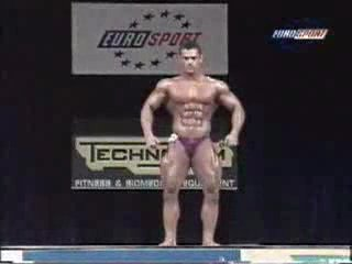 Gay bodybuilder Dimitris Anastasakis.